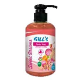 شامپو پمپی انار جیلز خوشبوکننده و نرم کننده مو با رایحه آبنبات