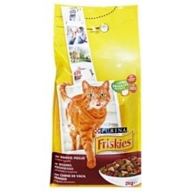 غذای خشک گربه بالغ با طعم گوشت گوساله و جگر فریسکیز