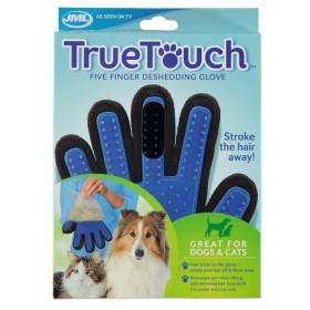 دستکش ماساژ و جمع کننده موی سگ و گربه ترو تاچ