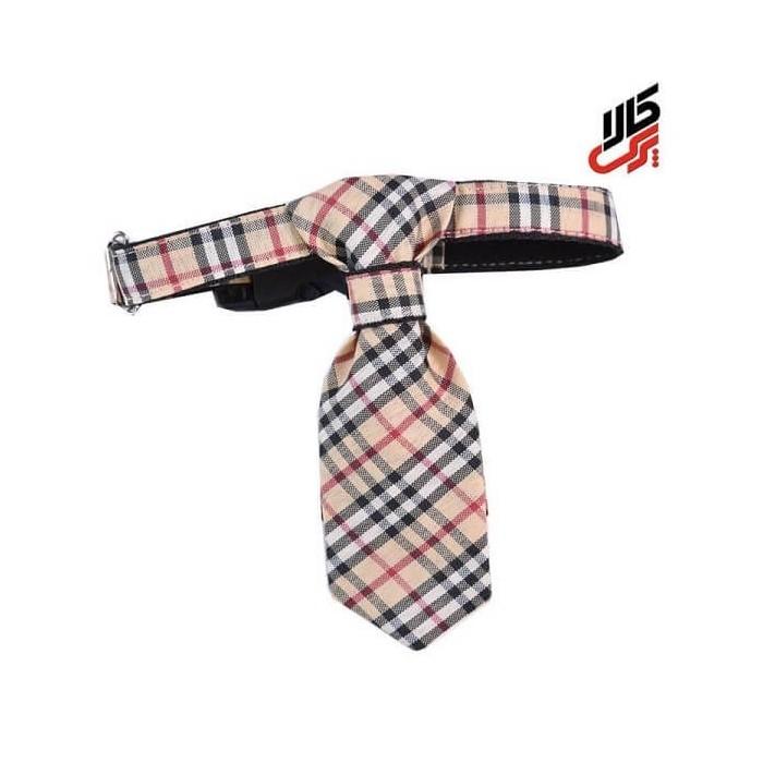 کراوات چهارخانه طرح بربری پرس کالا