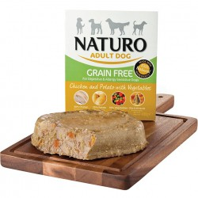 خوراک بدون غلات همراه مرغ و سیب زمینی و سبزیجات ناتیرو