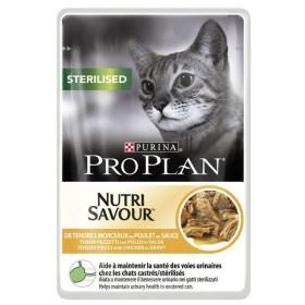 پوچ ژلاتینی گربه عقیم شده غنی شده در مرغ پروپلن