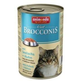 کنسرو گوشت مرغ و ماهی پالاک مخصوص گربه بالغ بروکنیز