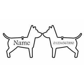 تگ شناسایی حیوانات - مدل سگ