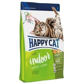 غذای خشک گربه بالغ با طعم گوشت بره ایندور هپی کت