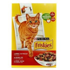 غذای خشک گربه بالغ با طعم گوشت گوساله فریسکیز