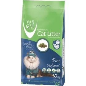 خاک گربه اولتراکلامپینگ با رایحه کاج جنگلی حاوی مواد آنتی باکتریال ون کت