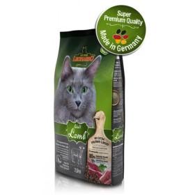 غذای خشک گربه بالغ حساس با طعم گوشت بره و برنج لئوناردو