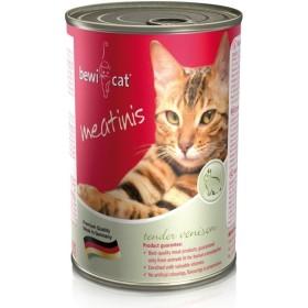 کنسرو گربه با طعم گوشت آهو و خرگوش بوی کت