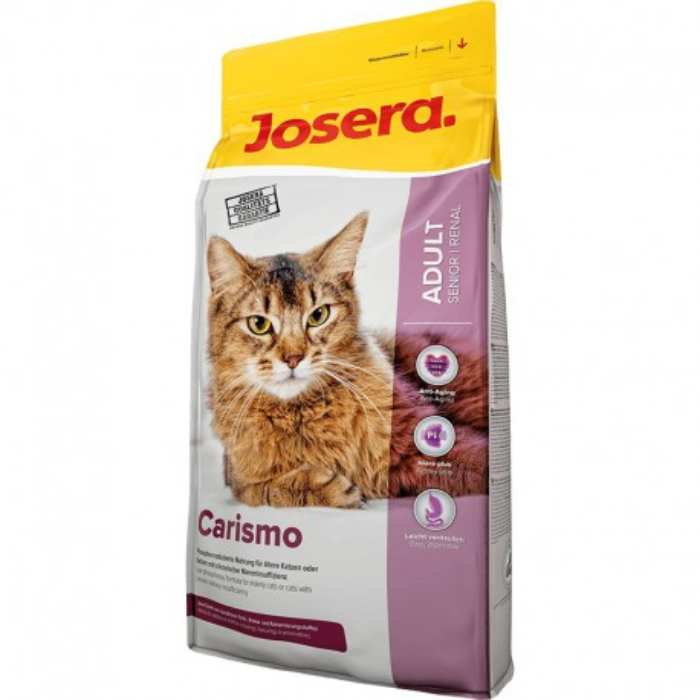 غذاي خشك كاريزمو جھت پيشگيري و بھبود بيماريھاي كليوي و يا گربه ھاي بالاي 6 سال جوسرا