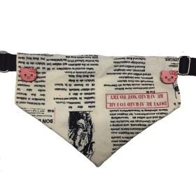 دستمال گردن طرح روزنامه ای پرس پت