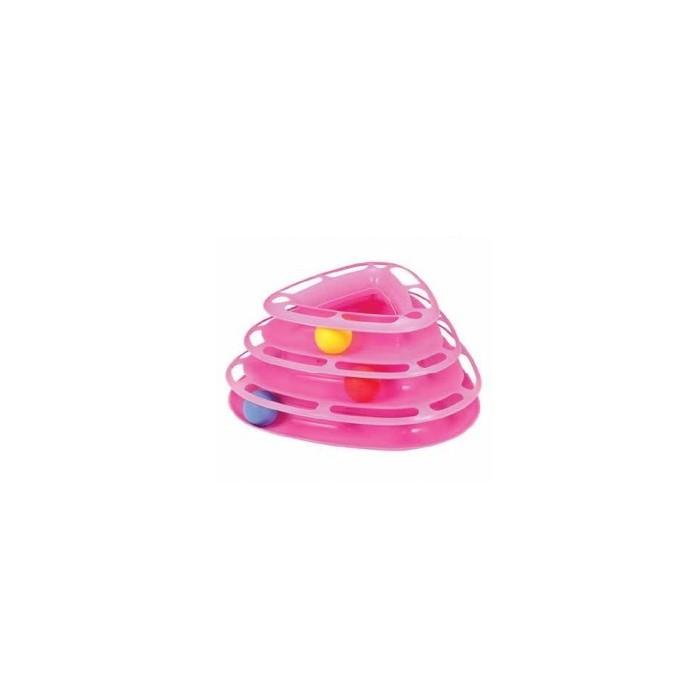 اسباب بازی 3 توپ مارپیچ و مثلتی گربه
