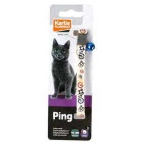 قلاده گربه موش کارلی فلامینگو