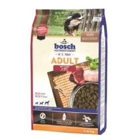 غذای خشک بره و برنج مخصوص سگ های بالغ کلیه نژادها بوش
