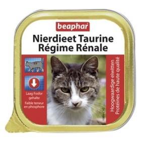 کنسرو پیشگیری و درمان مشکلات کلیوی حاوی تورین مخصوص بچه گربه بیفار