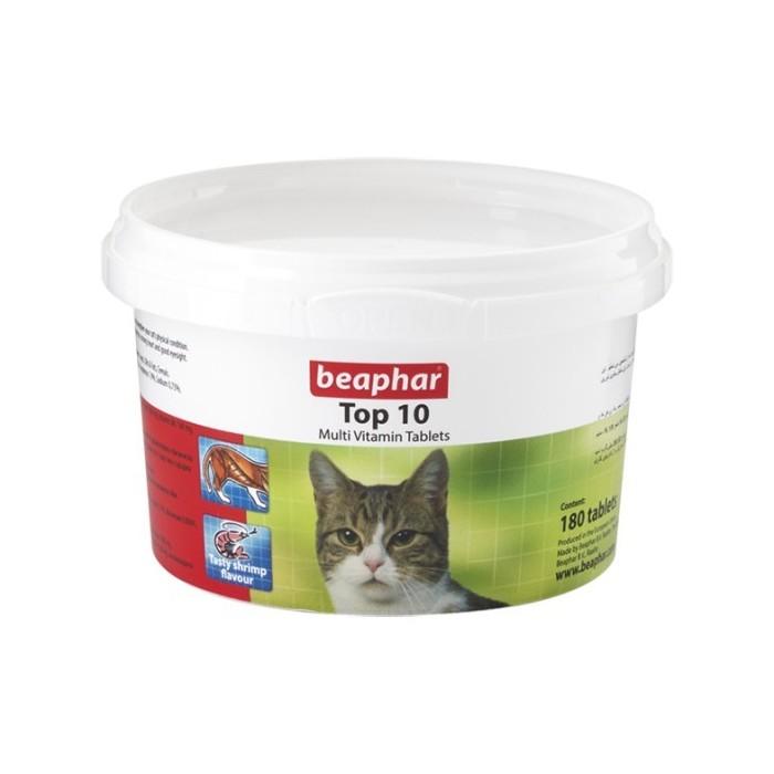 مولتی ویتامین تاپ 10 گربه بیفار