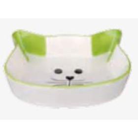 ظرف غذای سرامیکی طرح صورت گربه تریکسی