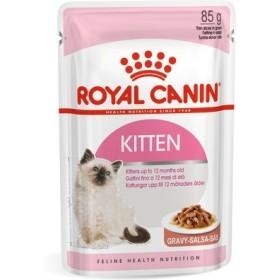 پوچ بچه گربه 4 تا 12 ماه در گوشت رویال کنین
