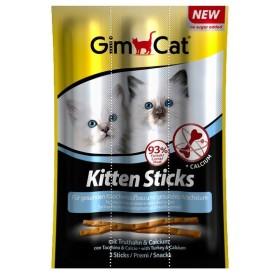 اسنک مدادی 3 عددی بچه گربه با طعم بوقلمون و کلسیم جیم کت