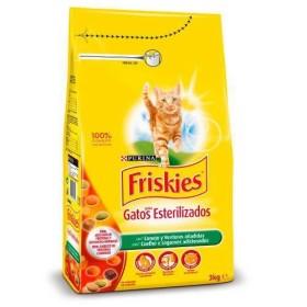 غذای خشک گربه بالغ عقیم شده خرگوش و سبزیجات فریسکیز