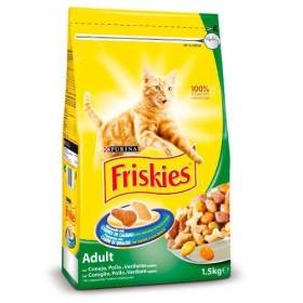 غذای خشک گربه بالغ با طعم خرگوش و مرغ و سبزیجات فریسکیز