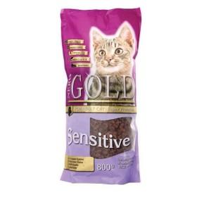 غذای خشک گوشت و برنج برای گربه ها حساس