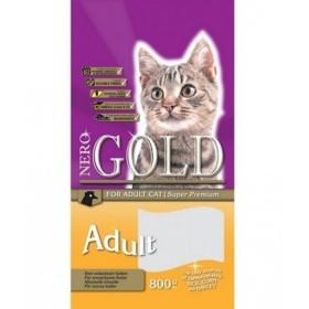 غذای خشک گربه بالغ با طعم مرغ نروگلد