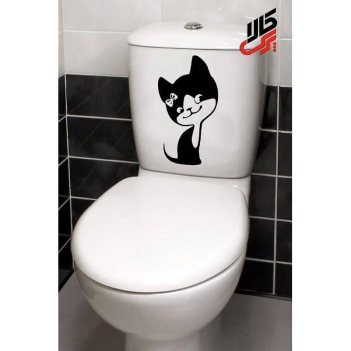 استیکر طرح گربه پرس کالا