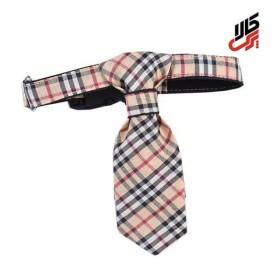 کراوات چهارخانه طرح بربری پرس پت