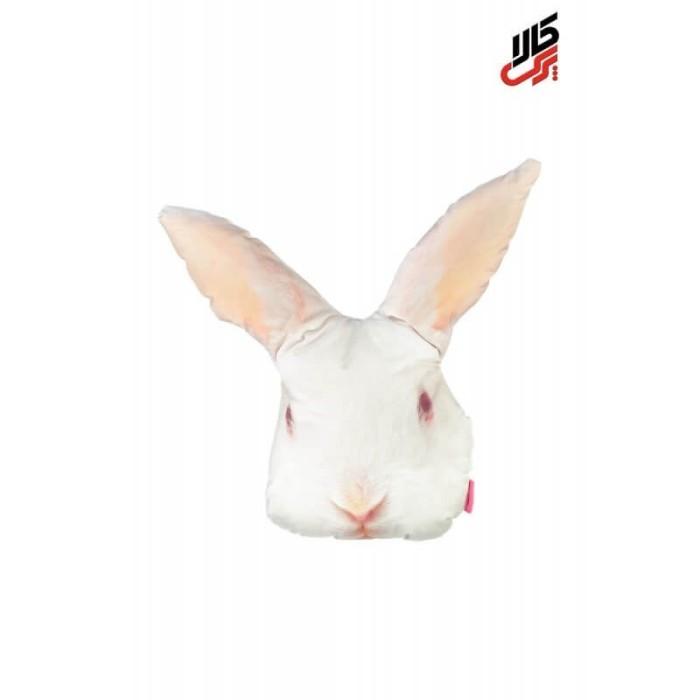 کوسن فانتزی طرح خرگوش سفید پرس کالا