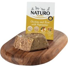 خوراک مرغ و برنج مخصوص توله سگ ناتیرو