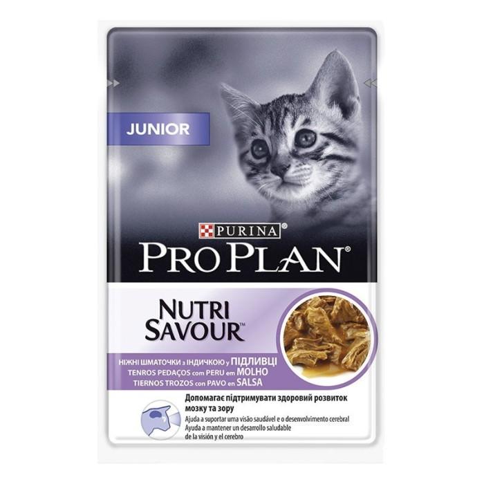 پوچ ژلاتینی بچه گربه غنی شده در بوقلمون پروپلن