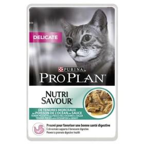 پوچ ژلاتینی گربه بالغ بدغذا غنی شده در مرغ و ماهی پروپلن