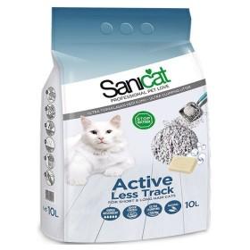 خاک گربه اکتیو مخصوص گربه های موبلند (دانه درشت) سانی کت