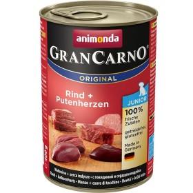 کنسرو گوشت گوساله و دل بوقلمون مخصوص توله سگ گرن کارنو