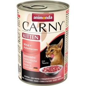 کنسرو گوشت گاو و دل بوقلمون مخصوص بچه گربه کارنی