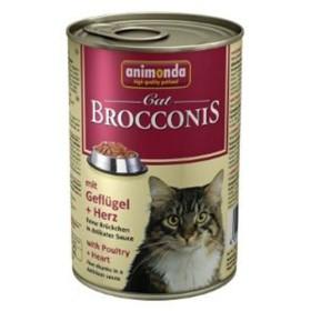 کنسرو گوشت پرندگان و دل مخصوص گربه بالغ بروکنیز