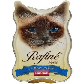 ووم رافینه حاوی پته گوشت ماهی مخصوص گربه