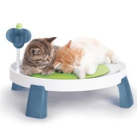 کاناپه گربه همراه ماساژورها و اسباب بازی هاگن