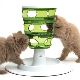 اسباب بازی گربه ظرف غذای مارپیچ هاگن