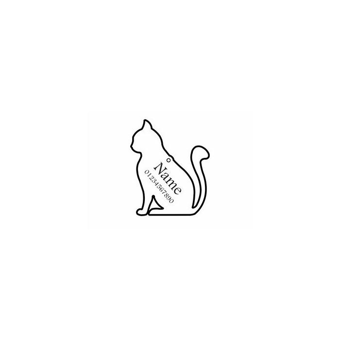 تگ شناسایی حیوانات - مدل گربه