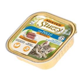 خوراک مخصوص بچه گربه با طعم مرغ استوزی