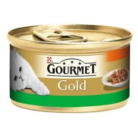 کنسرو گربه گورمه گلد با طعم خرگوش و هویج