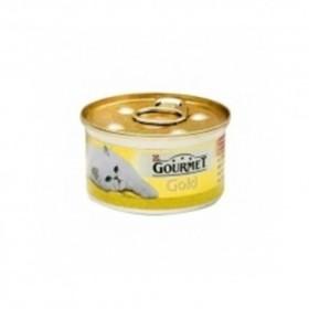 کنسرو گربه گورمه گلد با طعم اردک و زیتون