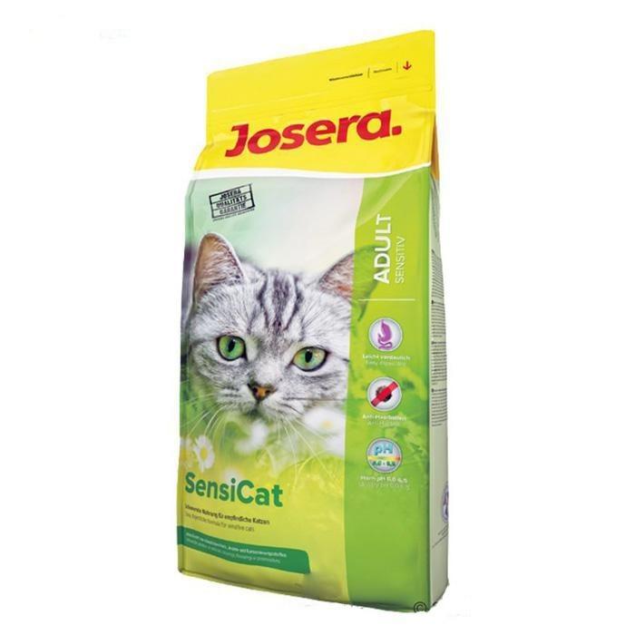 غذای خشک سنسی کت جوسرا مخصوص گربه های بالغ بد غذا