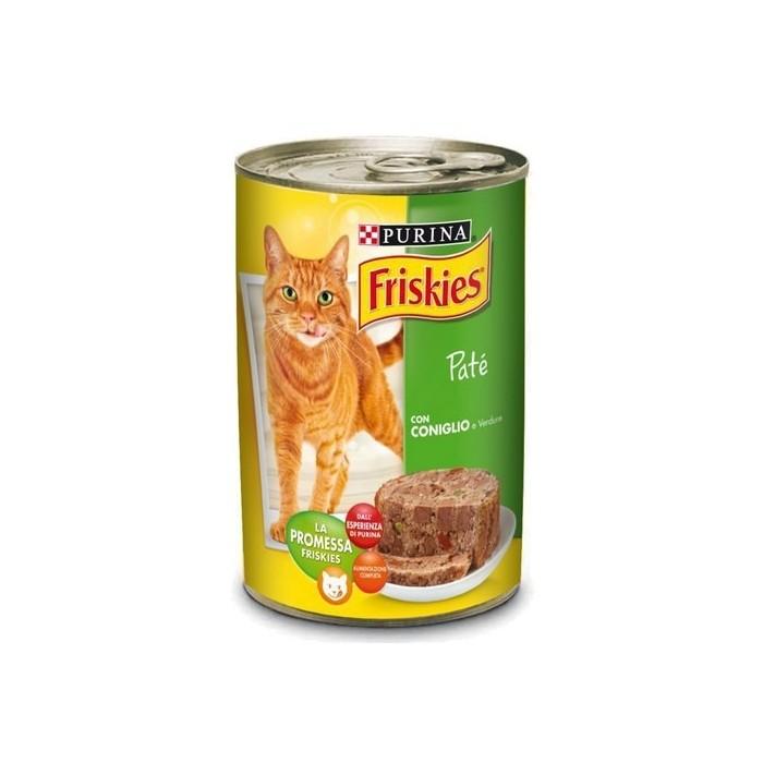کنسرو پروتئین در سبزیجات مخصوص گربه بالغ فریسکیز