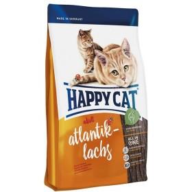 غذای خشک گربه بالغ با طعم ماهی سالمون هپی کت
