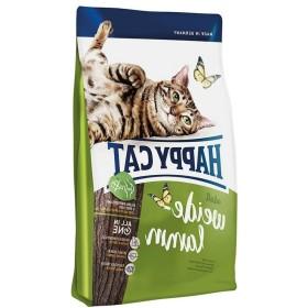 غذای خشک گربه با طعم بره هپی کت