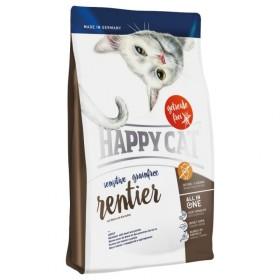 غذای خشک ارگانیک گربه با گوشت گوزن شمالی هپی کت