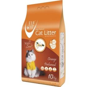 خاک گربه اولترا کلامپینگ با رایحه پرتقال حاوی مواد آنتی باکتریال ون کت